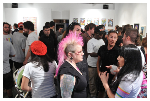 Garbage Pail Kids Opening Night 4 - Photo by daily Du Jour
