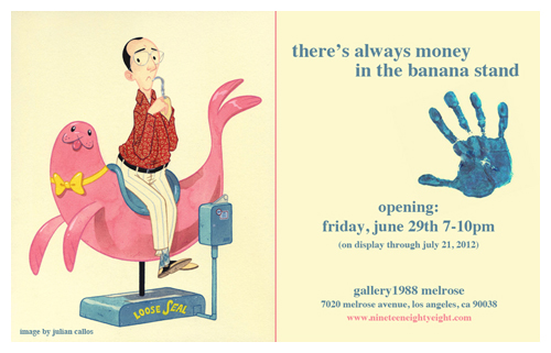 There's always money in the banana stand show evite