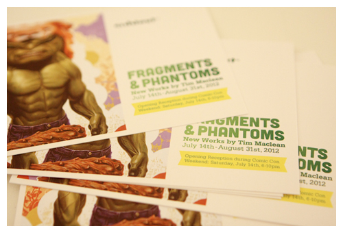 Fragments & Phantoms postcards