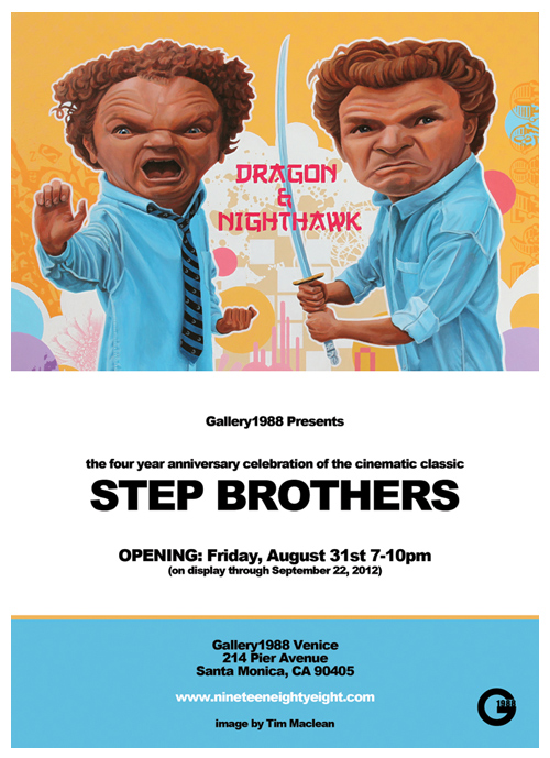 Step Brothers Flyer